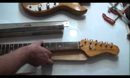 How to fix a back bow on a guitar neck