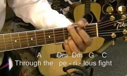 The Star Spangled Banner (Traditional) Acoustic Guitar Chords Lesson – Happy July 4th Everyone!