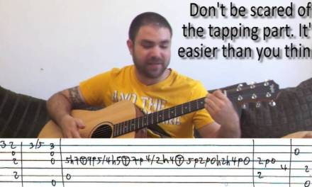 Fingerstyle Tutorial: Hungarian Dance No. 5 – w/ TAB (Guitar Lesson)