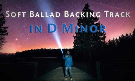 D Minor Soft Ballad Backing Track For Improvisation 93 Bpm