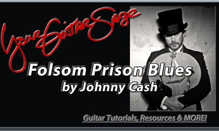 Folsom Prison Blues by Johnny Cash How to Play Guitar Lesson