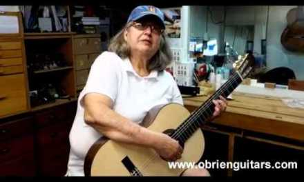 O'Brien Guitars – Guitar built in 6 days by Laura Ancira