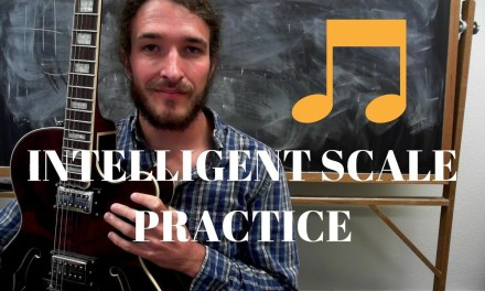 Intelligent Practice – Use Your Scales To Learn Triads and the Guitar Fretboard