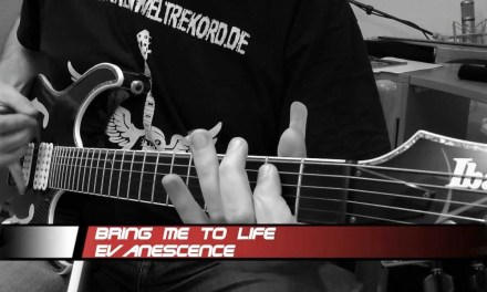 Evanescence – Bring Me To Life – (Guitar Cover) – Stahlverbieger