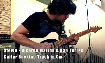 Guitar Backing Track in Gm – Stevie ( Ricardo Marins Dan Torres )