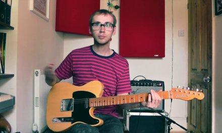 Blues Rhythm Guitar Lesson Bass Shuffle In E