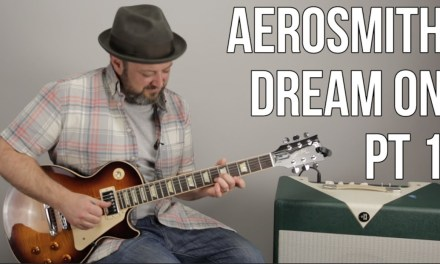 "How to Play ""Dream On"" by Aerosmith on Guitar – Guitar Lesson Part 1"
