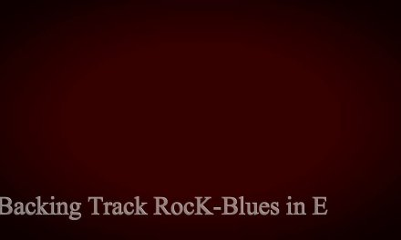 Guitar Backing Track Rock-Blues in E