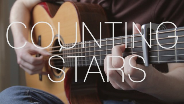 OneRepublic – Counting Stars – Fingerstyle Guitar Cover By James ...