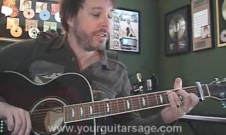 Guitar Lessons – Over My Head by The Fray – cover chords lesson Beginners Acoustic songs