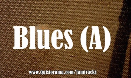Chicago Blues Backing Track (A)