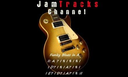 Funky Blues Guitar Jam Track – JamTracksChannel –