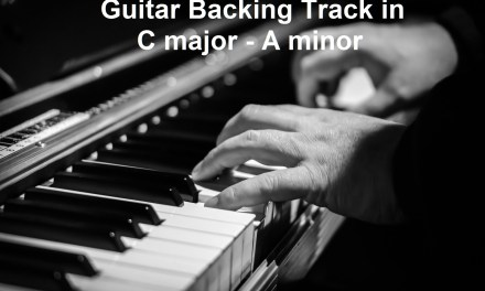 Ballad – Guitar Backing Track in C major / A minor