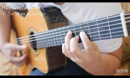 Se Io M'accorgo (Ben Mio D'un Altro Amante) | Classical Guitar | Oscar Chilesotti | Free Tabs