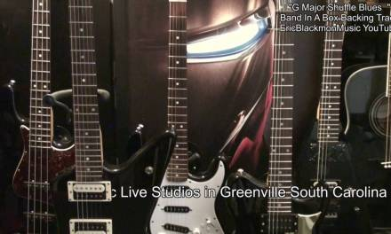 G MAJOR SHUFFLE BLUES Band In A Box Backing Track For Guitar Solo EricBlackmonMusicHD YouTube