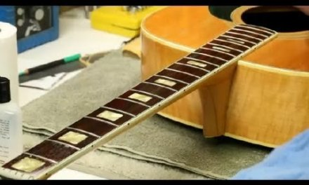How to Apply Bore Oil on Your Guitar : Guitar Building & Repair
