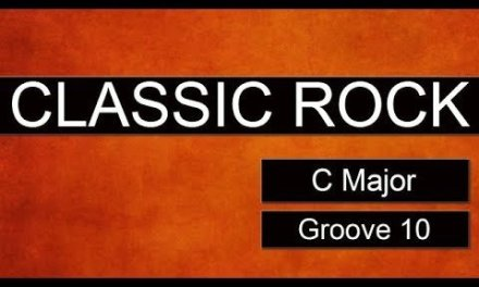 CLASSIC ROCK Guitar Jam Track – C Major