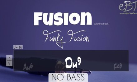 CHALLENGING FUSION BACKING TRACK! [NO BASS]