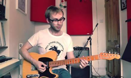 Blues Rhythm Guitar Lesson – The Slow Blues Slide