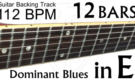 Guitar Coach : Backing Track : Dominant Blues in E