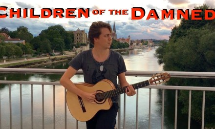 Children Of The Damned [IRON MAIDEN] Acoustic – Classical Fingerstyle guitar by Thomas Zwijsen