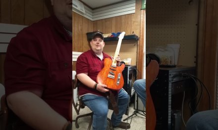 "Johnny Hiland & his DNA Guitar Company Custom Electric Guitar ""Aubry"""