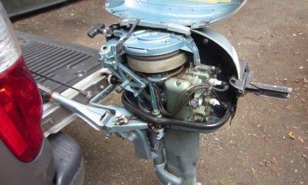 yard sale 1956 evinrude 10 hp sportwin