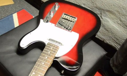 How to change Pickguard on Squier Fender Telecaster without removing strings