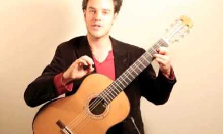 Voice independence in the right hand – Classical Guitar Exercise