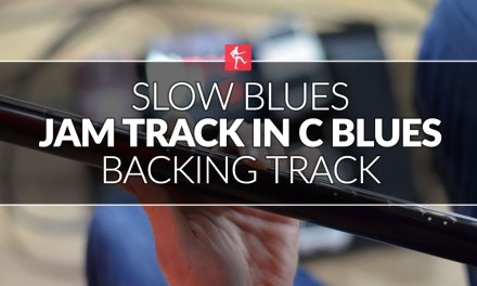 Slow Blues Jam Track In C Blues – Guitar Backing Track