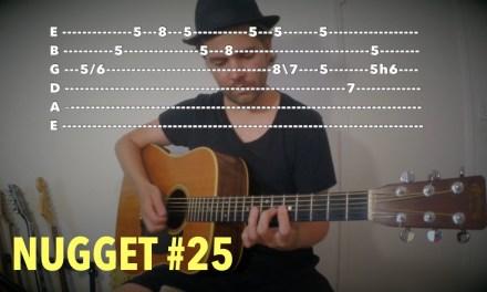 Acoustic Blues Guitar Lick (A)