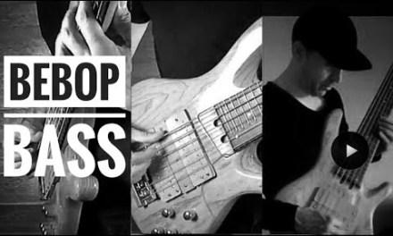 """Jazz bebop fusion bass – Bireli Lagreen """"Dinlo"""" main riff"""