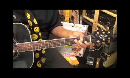 Sesame Street TV Show Theme Chord/Melody Guitar Lesson EricBlackmonMusicHD Kids