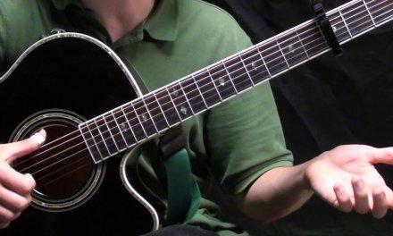 1952 Vincent Black Lightning Guitar Lesson – Verse Variations – The Thumb Picking Guitar Series