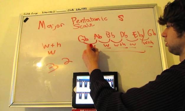 Music Theory Tutorial 145 – Pentatonic Scale