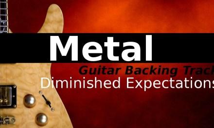 Dark Metal Backing Track Jam in B Super Locrian (Altered)