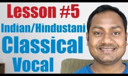 """Lesson #5 """"Sargam – Alankaar"""" Indian/Hindustani Classical Vocal Lessons Online(Hindi)"""