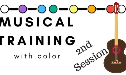 Musical Brain Training 2 – Single String Scales and COLOR on Guitar