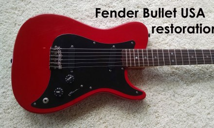 Fender Bullet USA – Vintage guitar restoration