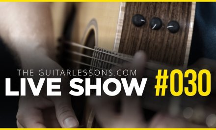 Live Show #030 – All About Guitar Picks