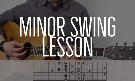 "LESSON: How to Play ""Minor Swing"""
