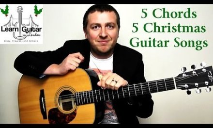 5 Easy Christmas Guitar Songs – 5 Chord Guitar Lesson – How To Play – Drue James