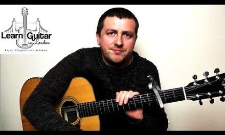 That's Entertainment – Guitar Lesson – The Jam – Paul Weller – Drue James