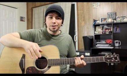 My top 3 easy acoustic guitar covers – beginner friendly!