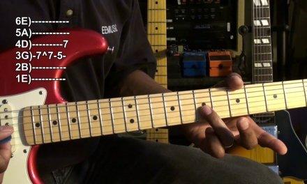 Quik Blues Licks #1 Beginner Guitar Solo Lesson EricBlackmonMusicHD Rock Blues