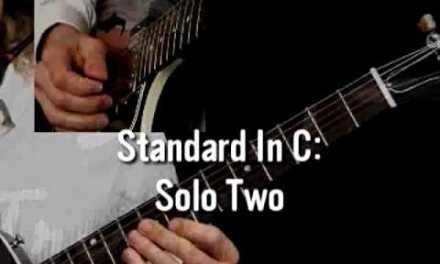 Jazz Guitar Lessons – Graduated Solos – Mimi Fox – Standard in C 2