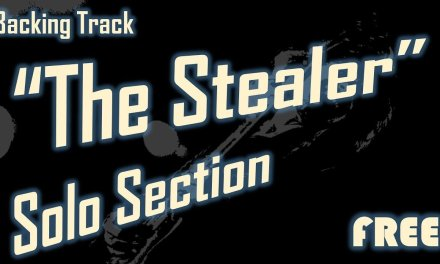 """""""The Stealer"""" (Free) Backing Track for Guitar Solo Section [Extended]"""