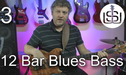 "12 Bar Blues Bass by Scott Whitley – Lesson 3 ""Standard"" blues bass pattern 1"