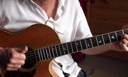Fingerpicking Lesson – Slow Blues in A – When My Baby Left Me