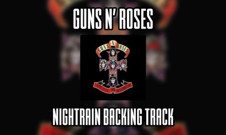 Guns N' Roses Nightrain backing track (Lead guitar)